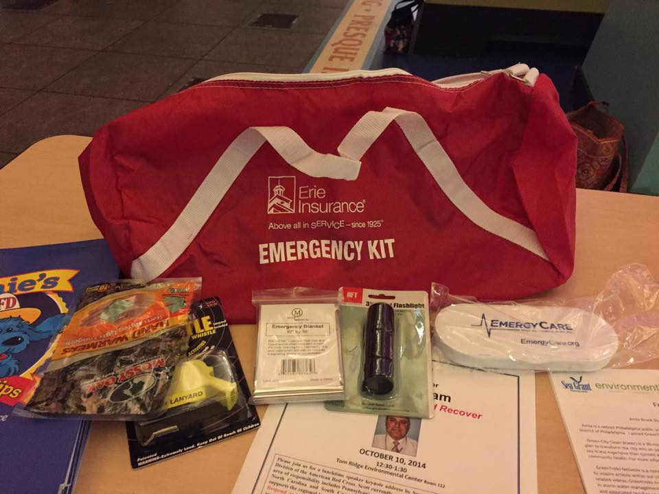erie insurance emergency kit