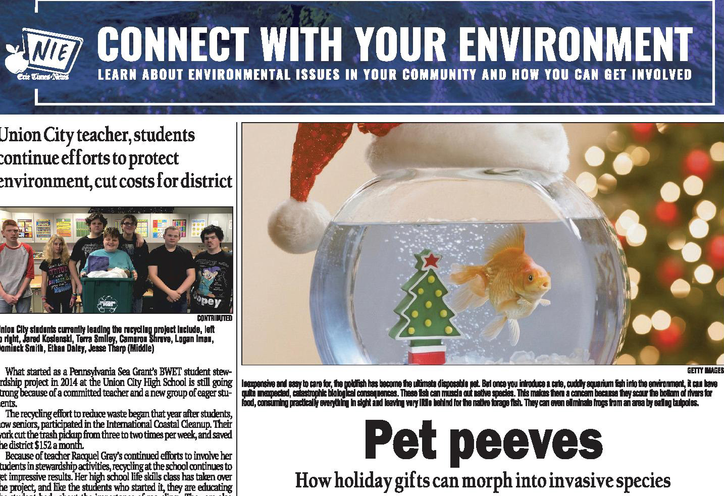 How holiday gifts can morph into invasive species