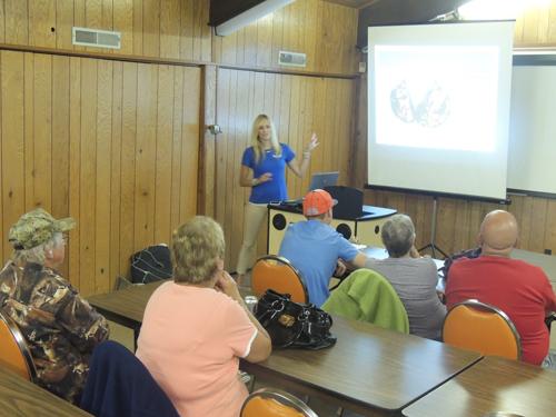 AIS presentation at Crooked Creek