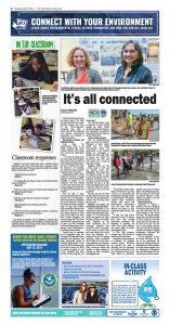 Cover of Connect with your environment page april 30 2019