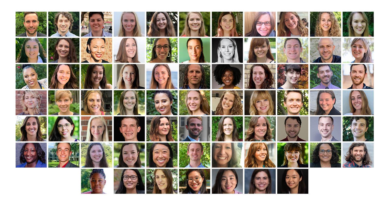 collage of 2021 knauss fellowship finalists