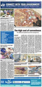 Plastic Pollution - September 4 2018 edition of Newspaper in Education - Produced by PA Sea Grant and Erie Times News