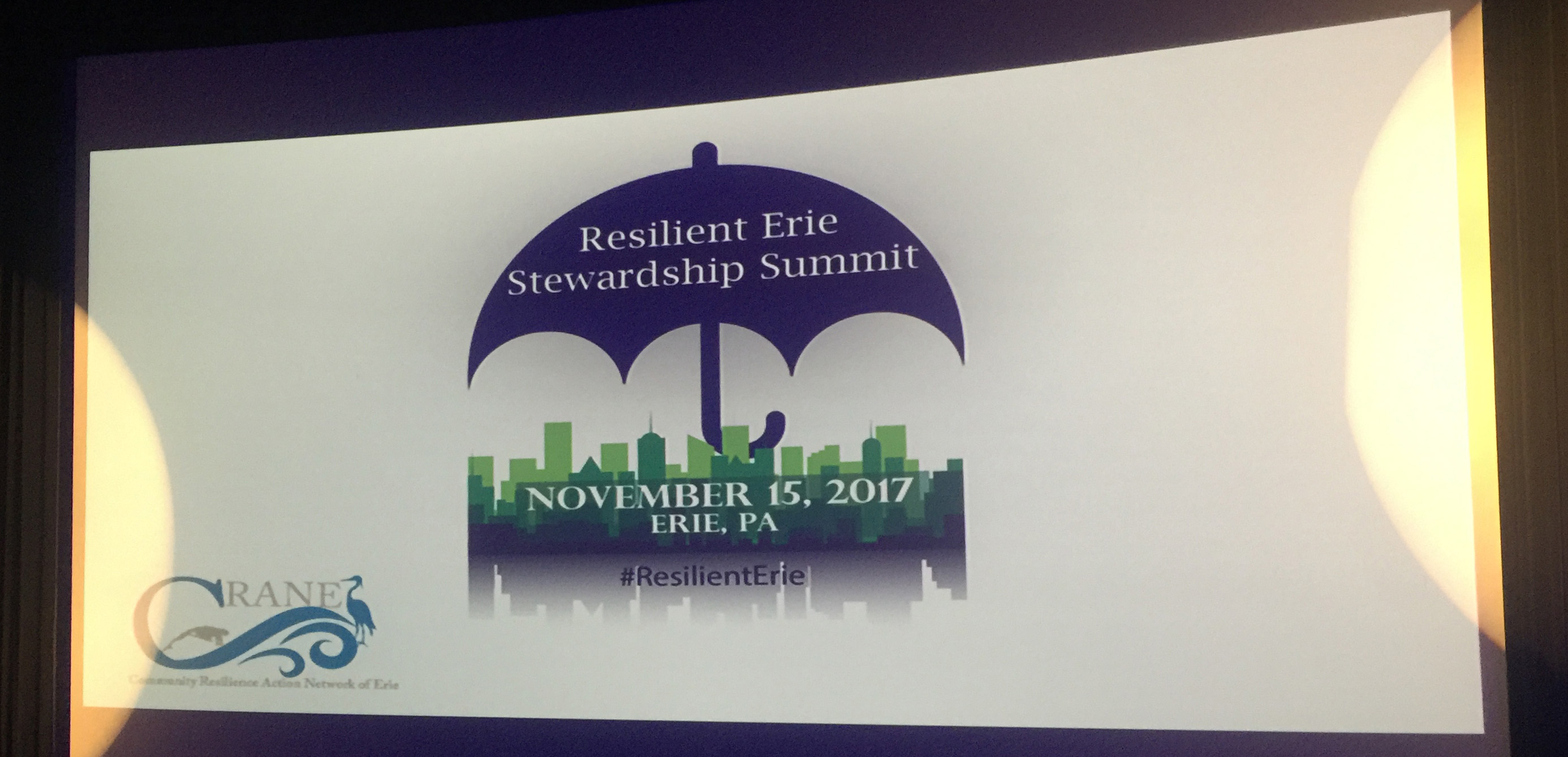 Resilient erie stewardship summit graphic