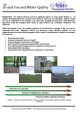 Land use and water quality fact sheet