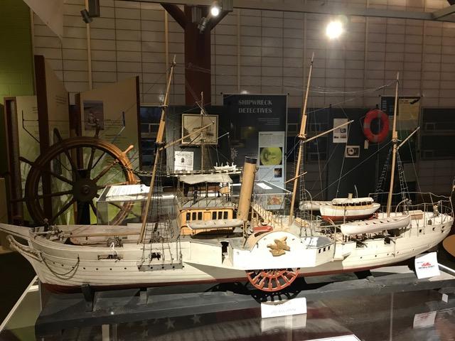 Great Lakes Shipwreck Exhibit Display Item
