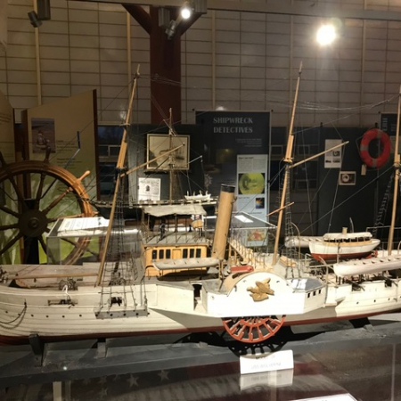 Great Lakes Shipwreck Exhibit Display Item