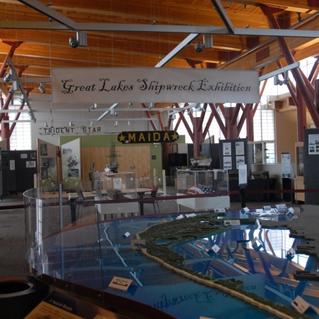 Great Lakes Shipwreck Exhibit
