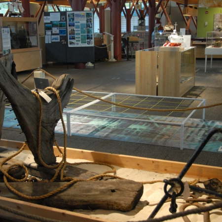 Great Lake Shipwreck Exhibit Interactive Displays