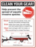 clean your gear boater sign