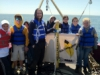 Students deploying drift buoy