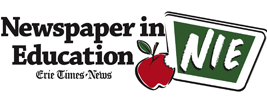 Erie Time New Newspaper in Education></p> <p>The Erie Time New Newspaper in Education (NIE) program educates teachers, students, and members of the Erie community on important coastal environmental issues such as non-point source pollution, climate change, marine debris, invasive species, and emerging contaminants. Pages are developed every Tuesday during the school year from September through June and include a lesson plan on the topic highlighted each week. Check back weekly for the latest issue!</p> <p></center></p> </body></html>