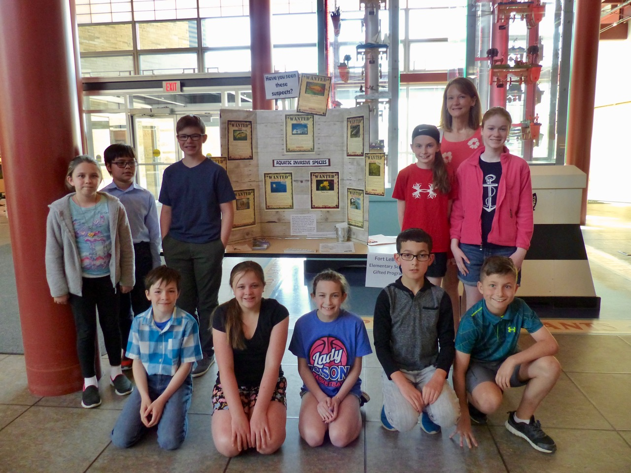 Great Lakes Awareness Day Student Participants
