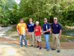 Partners associated with stream restoration on Sevenmile Creek