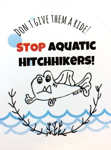 stop aquatic hitchhikers graphic