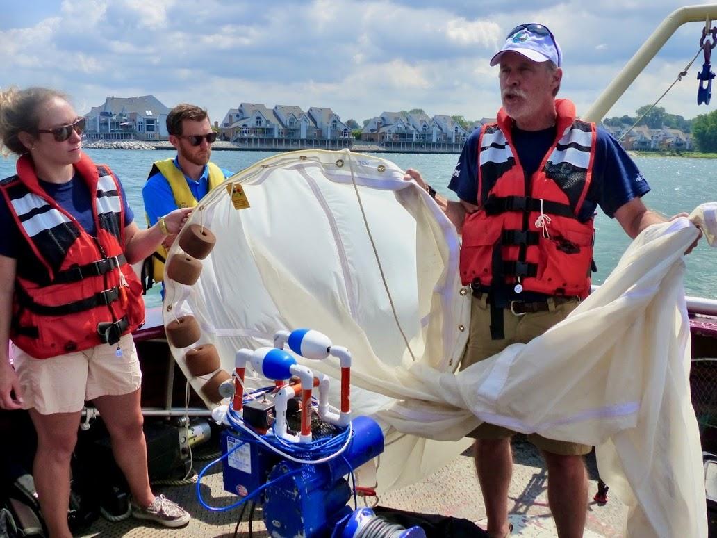 David Boughton Leading Shipboard Instruction