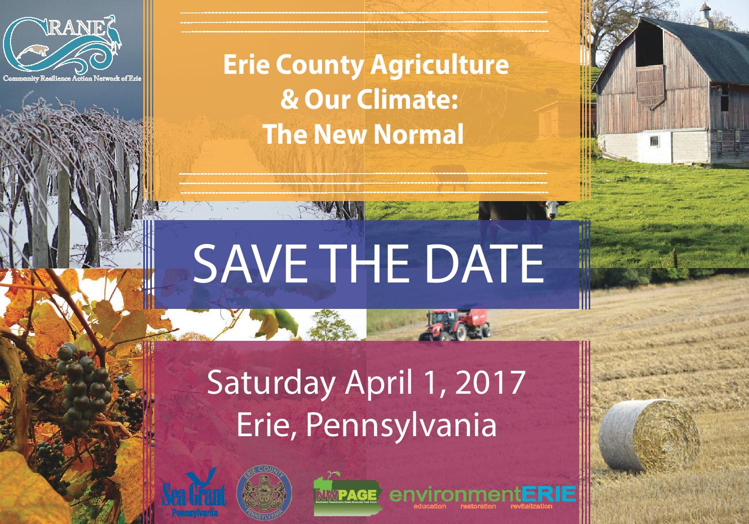 Agriculture summit save the date