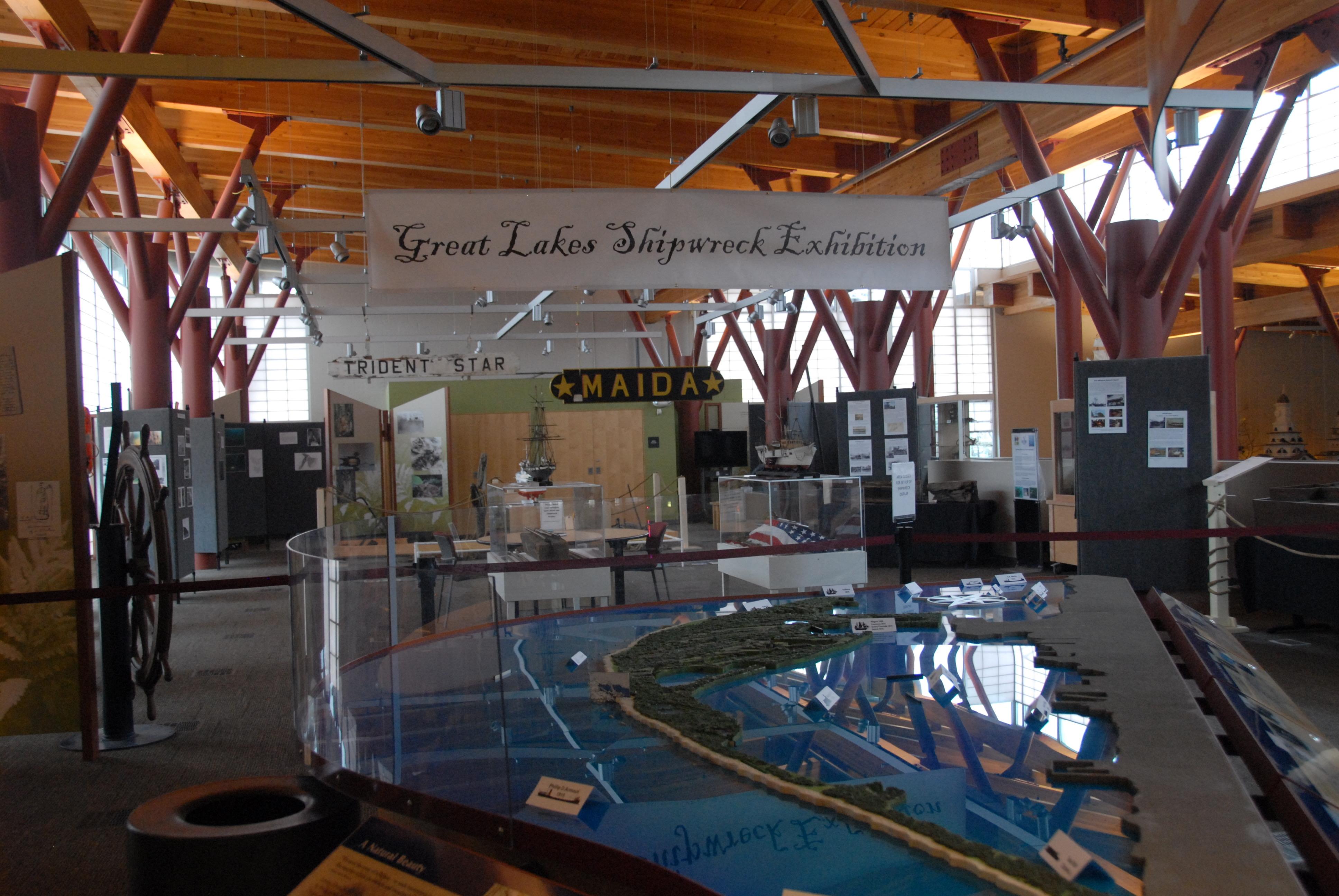 Great Lakes Shipwreck exhibit, Erie PA