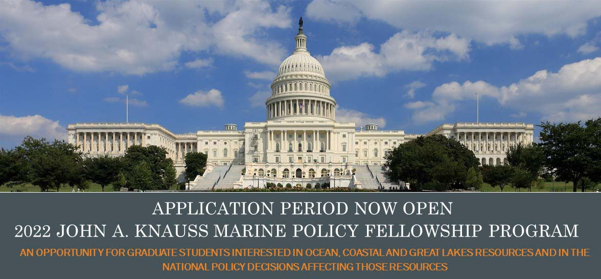 Capitol Building and announcement of application period for fellowship