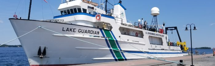 EPA research vessel the Lake Guardian