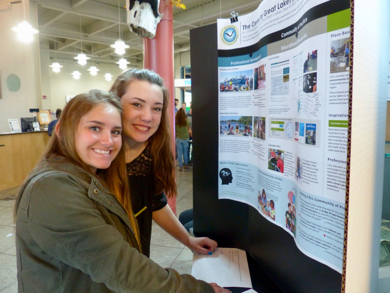 Great Lakes Awareness Day 2017 student participants