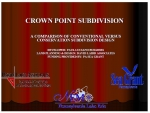 Crown Point Conservation subdivision presentation