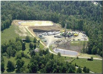 Marcellus E-Forum photo of impacted land