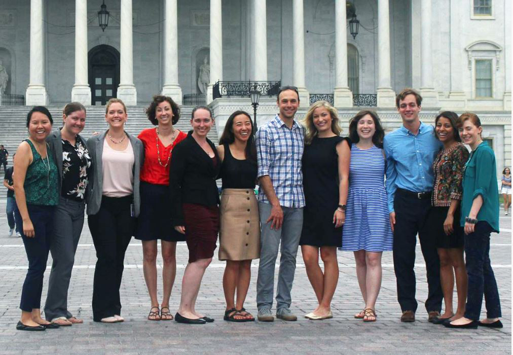 Former Knauss Fellows participate in activities in Washington, D.C.