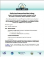 Clean marina pollution prevention workshop