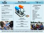 Sea perch poster