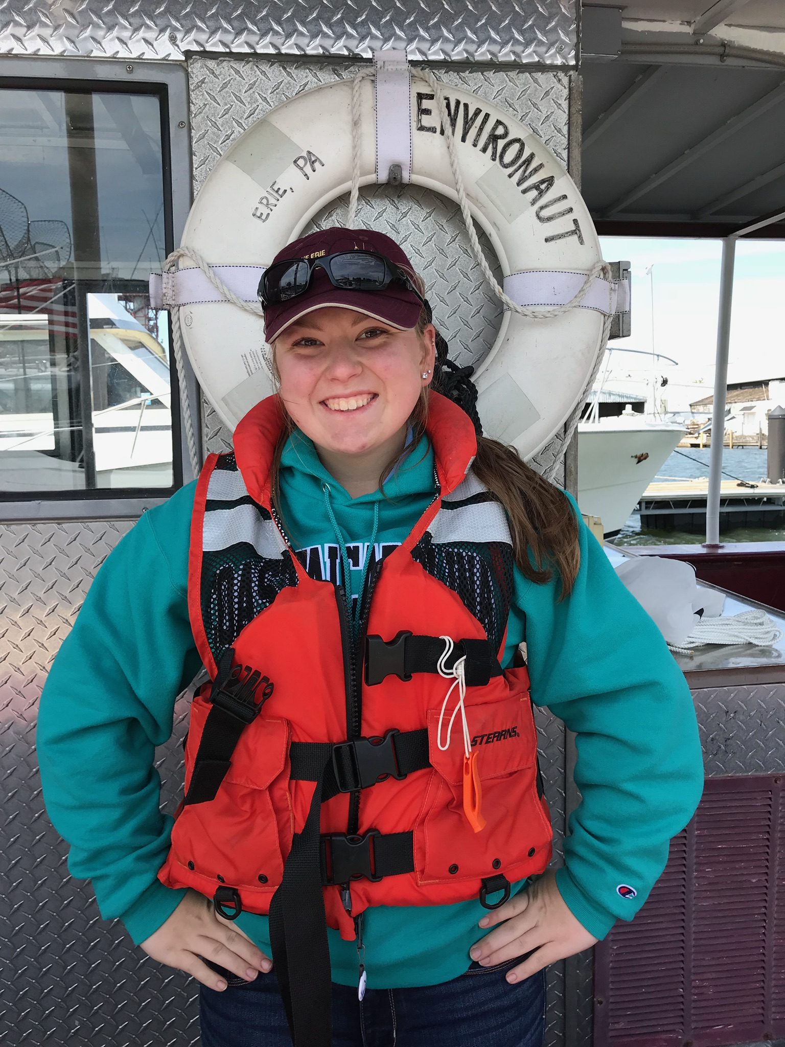 Lauren Andrychowski, shipboard science educator