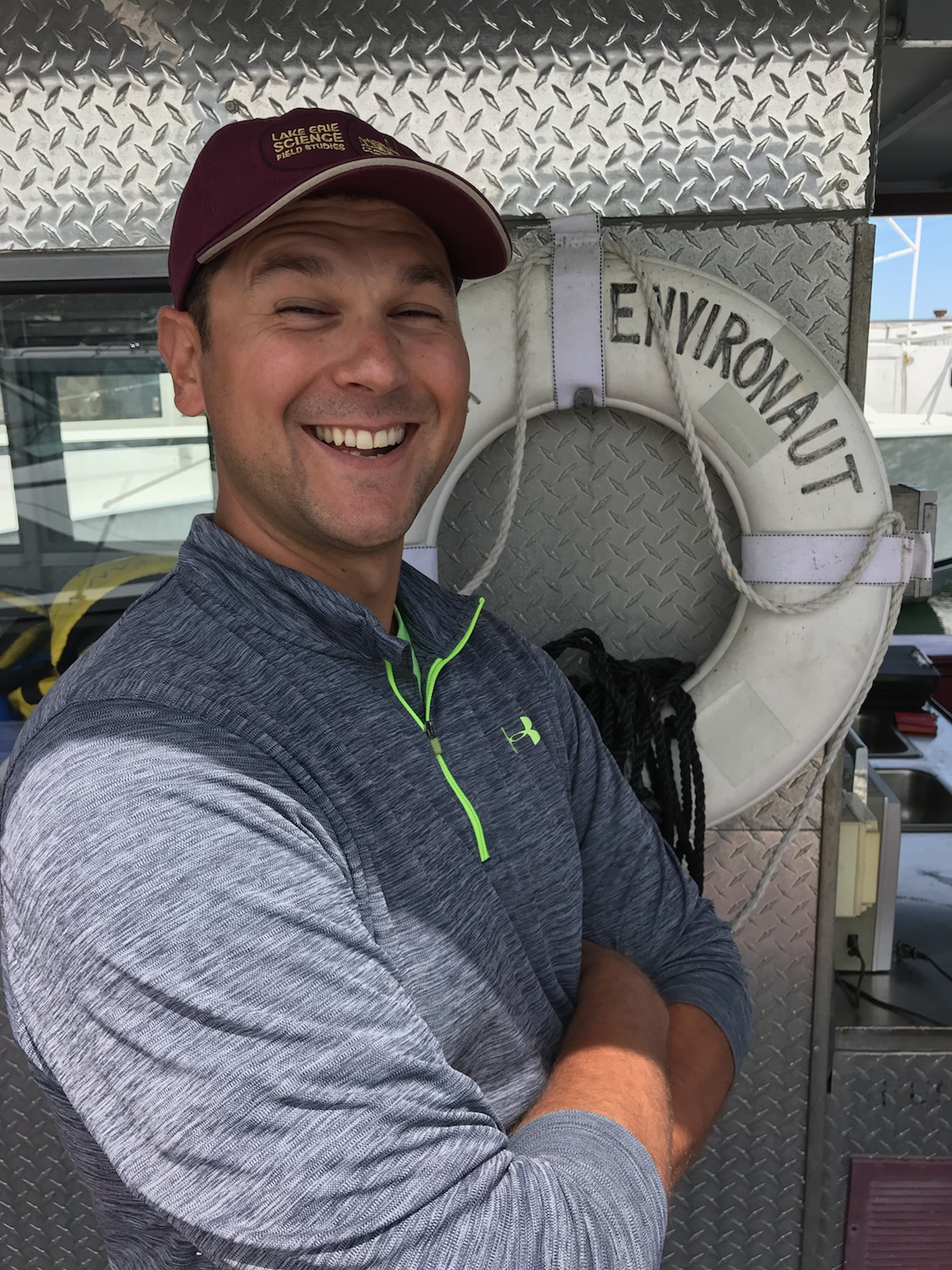 Nate Millet, shipboard educator