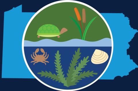graphic icon for new aquatic invasive species app