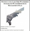 PA Lake Erie Watershed Integrated Water Resources Management Plan