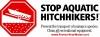 Stop Aquatic Hitchhikers logo